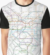London Rail & Tube Graphic T-Shirt