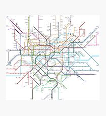 London Rail & Tube Photographic Print