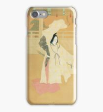 Japanese Art - No Dance & Firefly Hunt (Anonymous, 1920s) iPhone Case/Skin