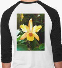 Backlit Orchid  Men's Baseball ¾ T-Shirt