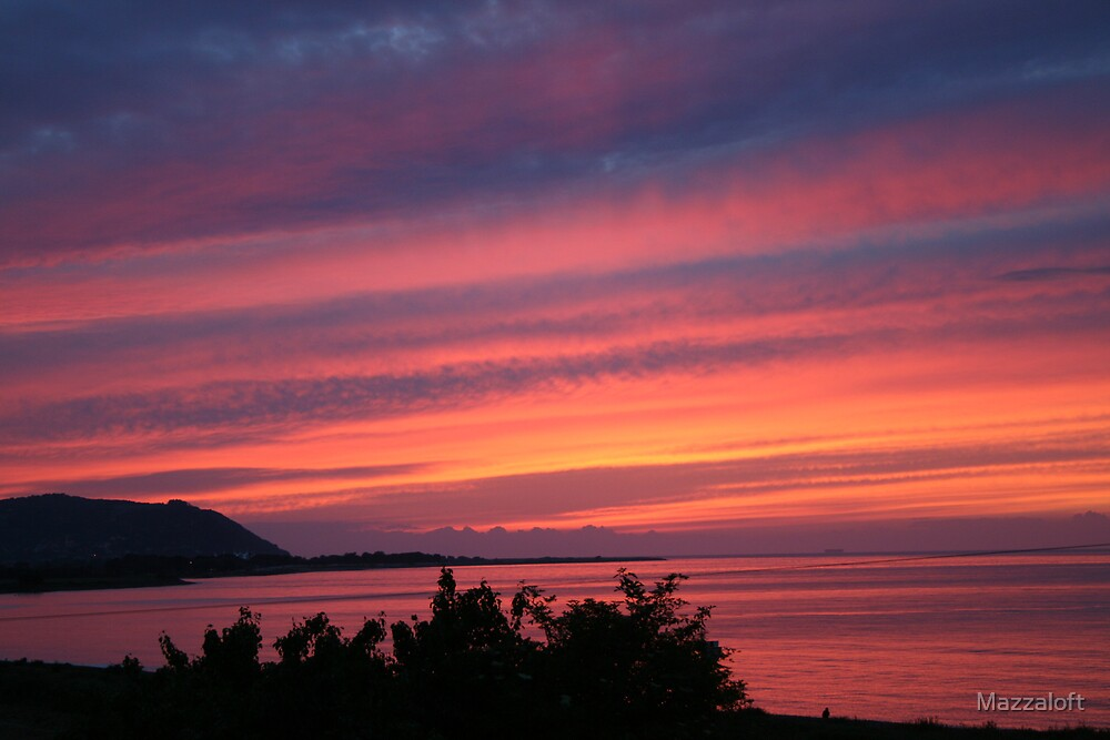 Pastel Sunset by Mazzaloft