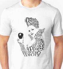 The Evil Queen - Calligram - color WHITE Unisex T-Shirt