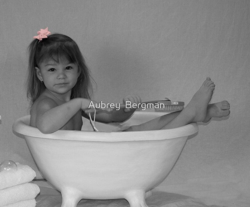 Bath time by Aubrey  Bergman