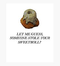 Skyrim - Sweetroll Photographic Print