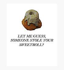 Skyrim - Sweetroll Photographic Print