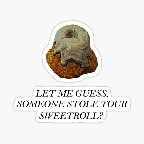 Skyrim - Sweetroll Sticker