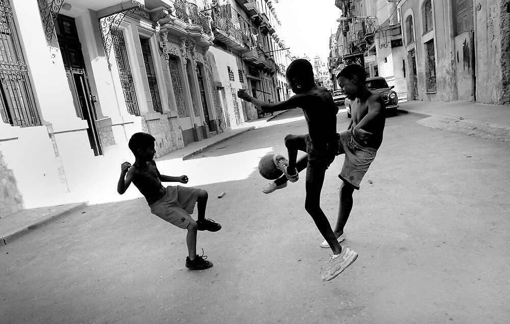 Street Soccer by afisilver