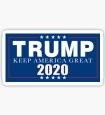 Trump 2020 Sticker and Apparel Sticker