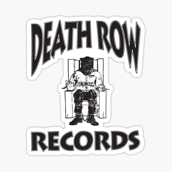 Death Row Records Sticker