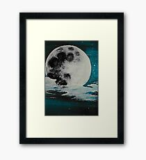 Mysterious Moon Framed Print