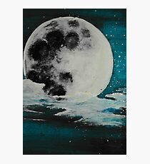 Mysterious Moon Photographic Print