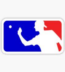 major league beer pong Sticker