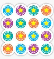 Preschool Teacher/Childcare Worker Award Stickers Sticker