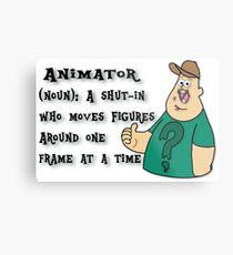 Animator Metal Print