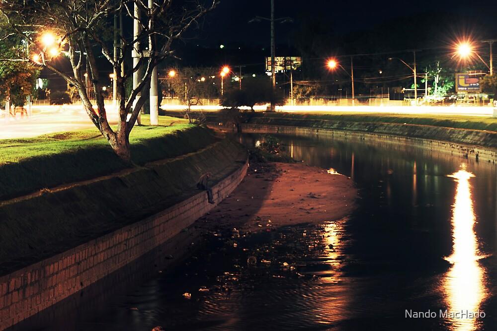 The Urban Way #4 - Dam by Fernando Machado