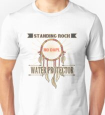 SUPPORT STANDING ROCK-WATER PROTECTOR Unisex T-Shirt
