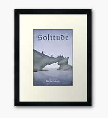 Skyrim - Solitude Framed Print