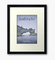 Skyrim - Solitude Framed Print