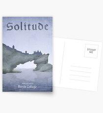Skyrim - Solitude Postcards