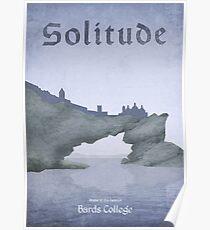 Skyrim - Solitude Poster