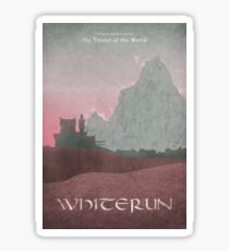Skyrim - Whiterun Sticker