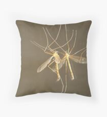 MOSQUITO HAWK Throw Pillow