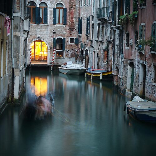Venezie di notte by Michael Mancini