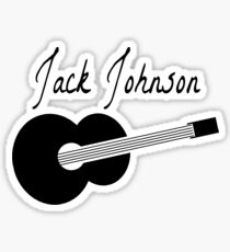 Jack Johnson Sticker