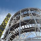 Amusement  Park Ride, Coney Island, Brooklyn, New York City by lenspiro