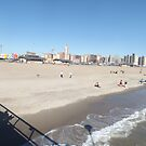 Coney Island, Beach, Brooklyn, New York City by lenspiro