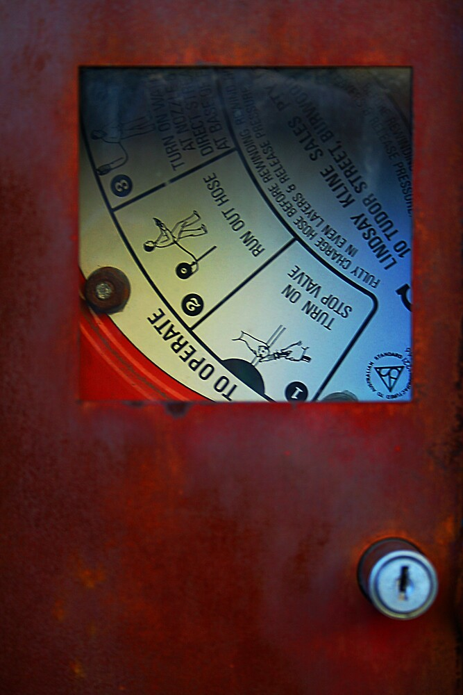 Fire Hose Reel by Jonathan Russell