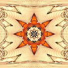 Compass in Wood by kenspics