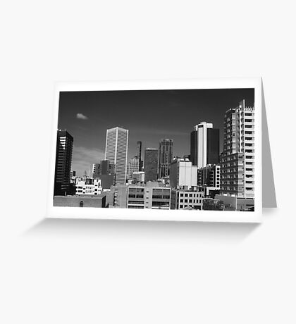 Skyline Greeting Card