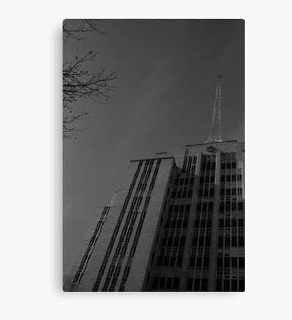 Russell St Police Station Canvas Print