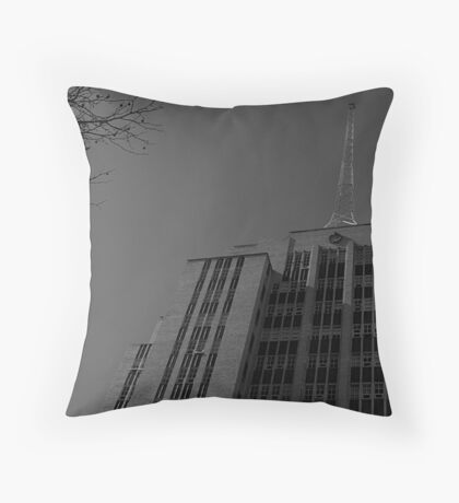 Russell St Police Station Throw Pillow