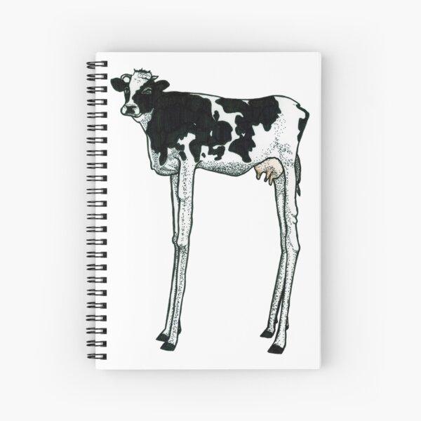Long Legged Cow Spiral Notebook