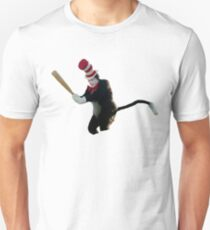 Cat In The Hat Baseball Bat Meme Unisex T-Shirt