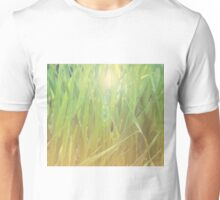 Abstract grass background 2 Unisex T-Shirt