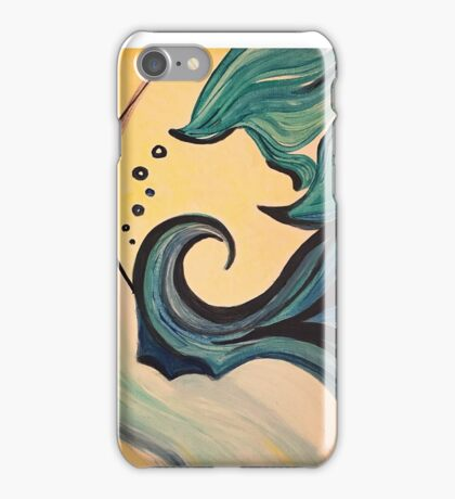 The wave of warmth iPhone Case/Skin