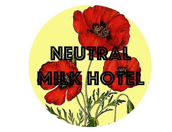 Neutrales Milchhotel von laurenpunales