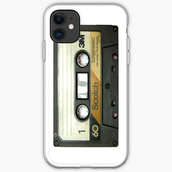 Retro Cassette Tape - iphone case iPhone Soft Case