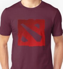 RED AND BLACK DOTA 2 Unisex T-Shirt