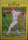 258 - Ted Power by Foob's Baseball Cards