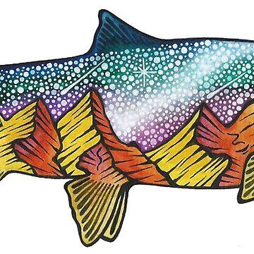 Fish Full of Stars by AuroraAngove