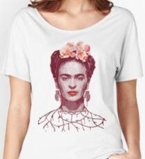 Frida Kahlo Portrait Women's Relaxed Fit T-Shirt