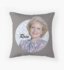 Rose from St Olaf Throw Pillow