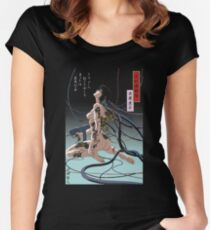Ghost In Shell Arise Women's Fitted Scoop T-Shirt