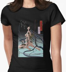 Ghost In Shell Arise Womens Fitted T-Shirt