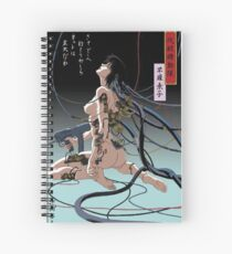 Ghost In Shell Arise Spiral Notebook
