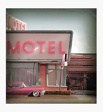 Cadillac Motel Photographic Print